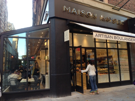 Maison Kayser, dessert, new york city, manhattan