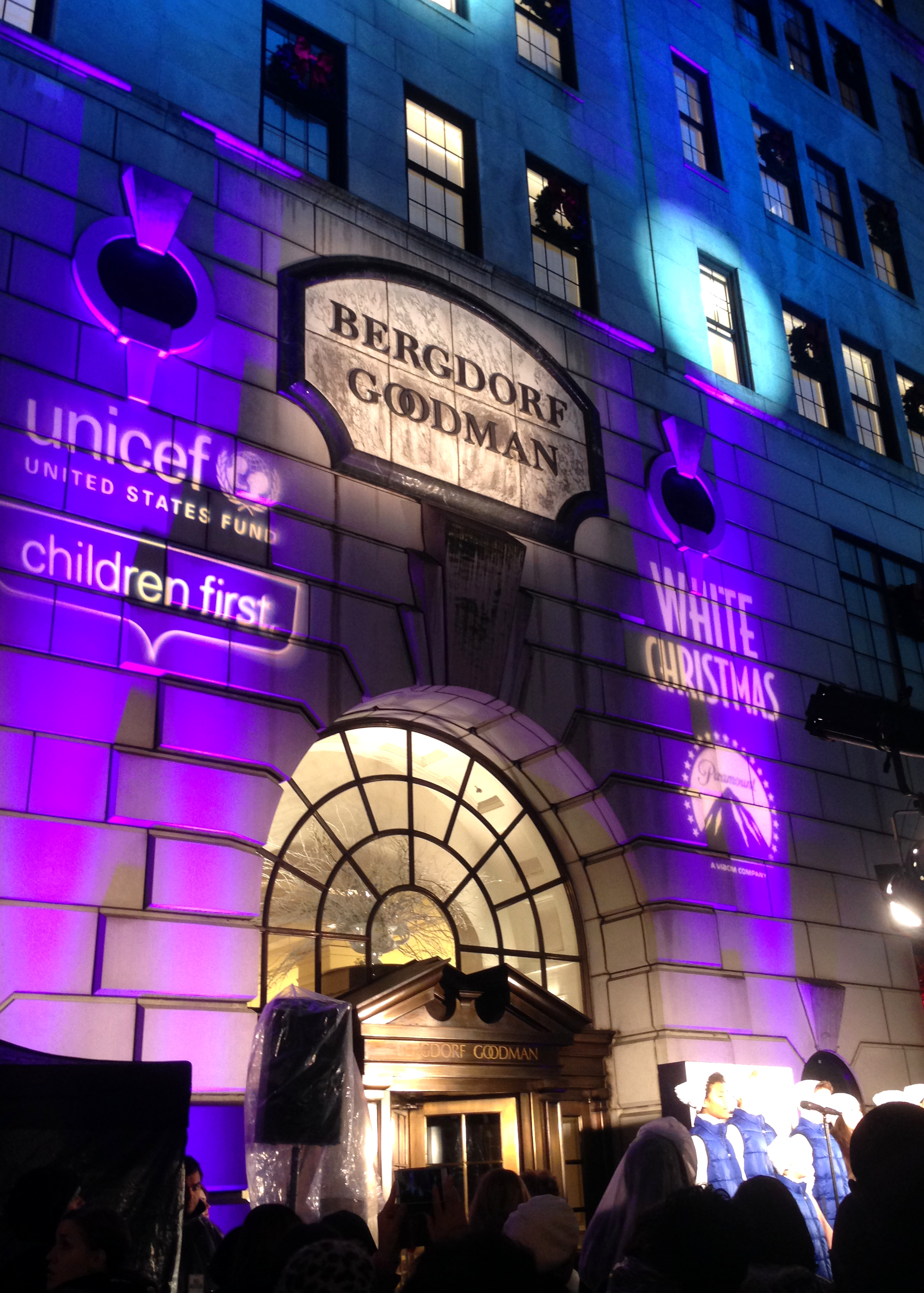 From The Massive Menorah To Colossal Christmas Tree Mary In Lighting Diagram Bergdorf Windows