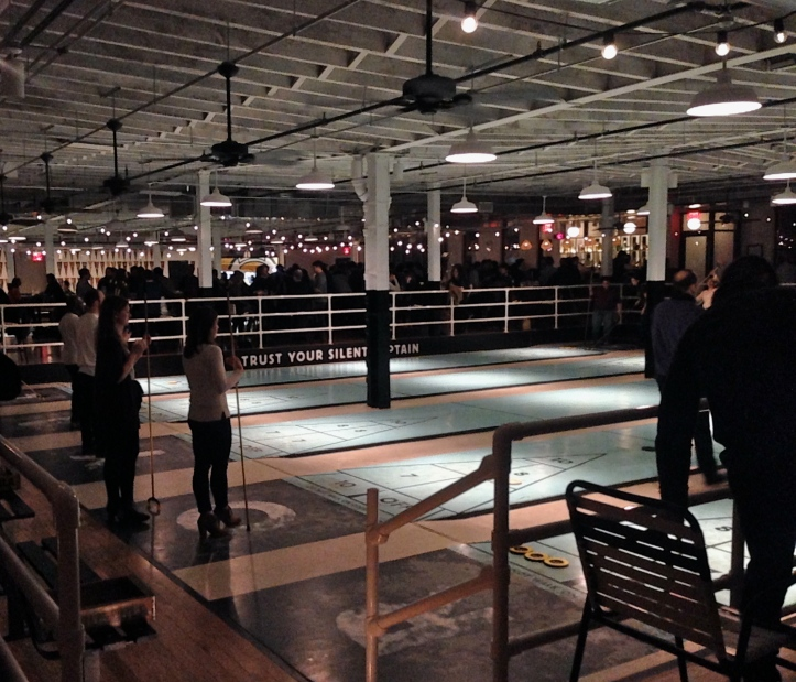 The Royal Palms, Brooklyn, Shuffleboard