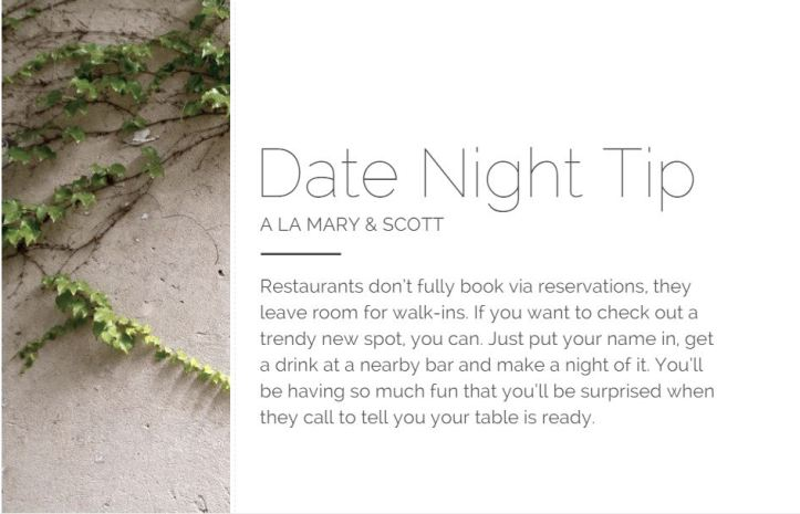 date night nyc