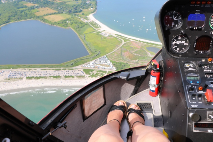 helicopter tour newport