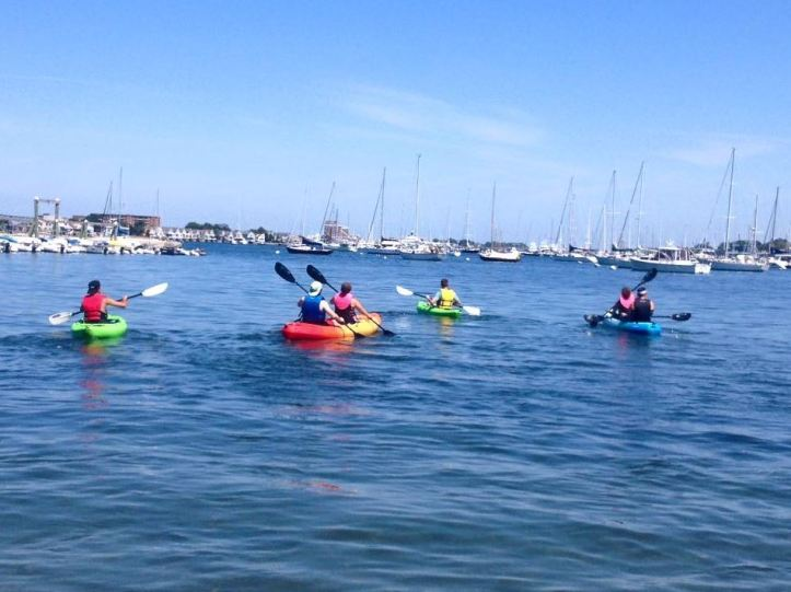 kayaking newport