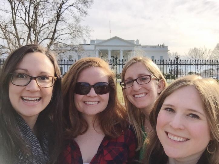 white house selfie
