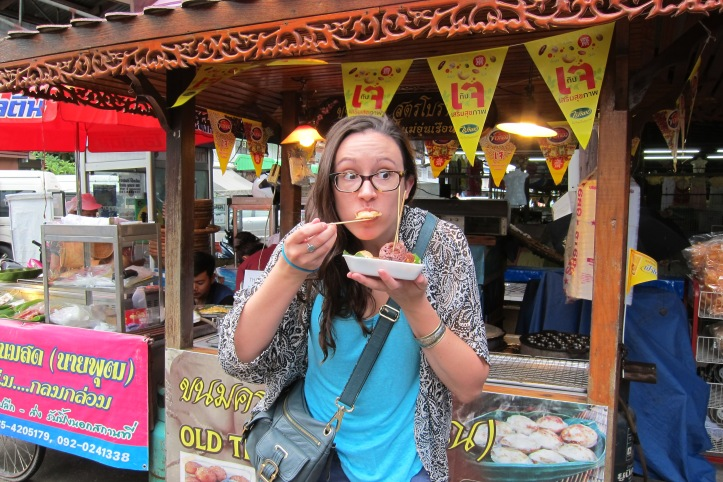 Thai waffles