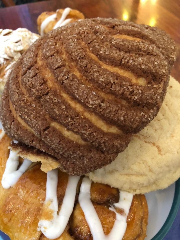 Concha pastry