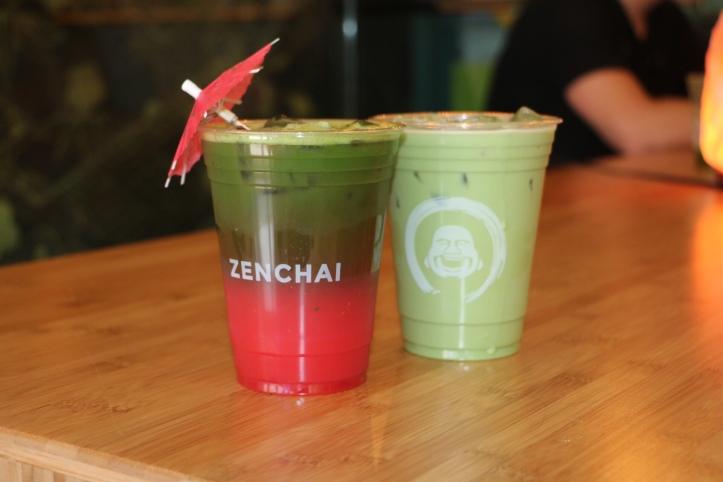 Zenchai matcha drinks