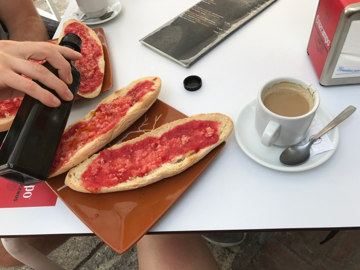 Pan con tomate Spain