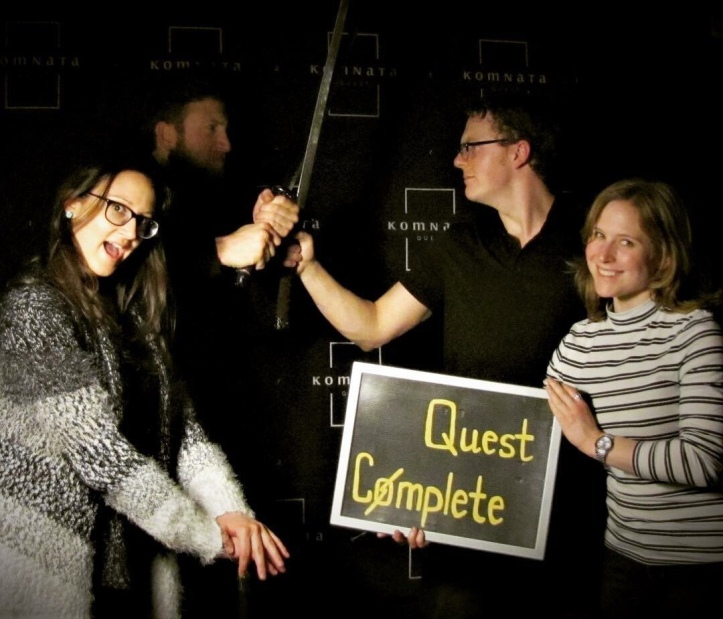 Komnata Quest escape the room