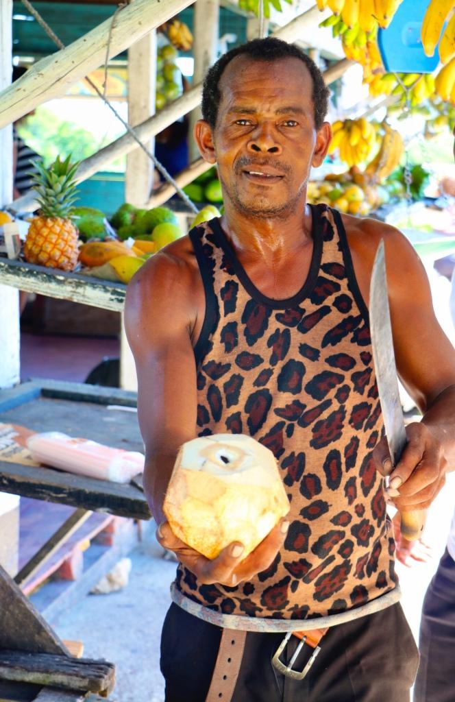 Montego Bay coconut